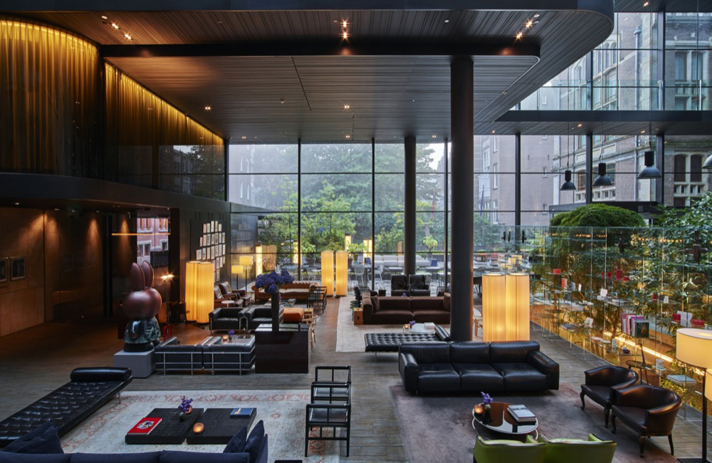 Conservatorium Hotel Lounge